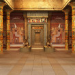 Stock Photo: Pharaoh's Tomb ( 3d rendering )