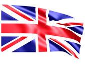 Flag of United Kingdom ( 3d rendering ) — Stock Photo