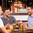 Spending time in bar — Stock Photo