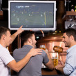 Постер, плакат: Watching soccer match