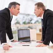 Business confrontation — Stock Photo