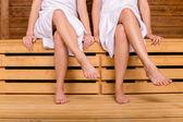 Kızların Sauna — Stok fotoğraf