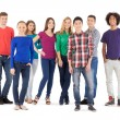 Cheerful young people — Stock Photo