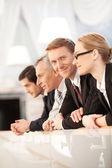 自信を持ってビジネス人々 — ストック写真