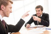 Business confrontation. — Stock Photo