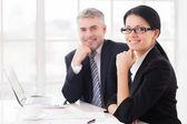 Business colleagues. — Stock Photo