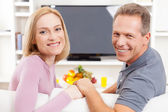 Happy mature couple. — Stock Photo