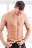 Keeping body in perfect shape. — Stock Photo
