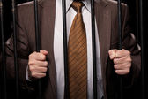 White collar crime — Stock Photo