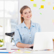 femme d'affaires au travail — Photo #40779297