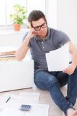 Home finances. — Stock Photo