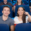 Couple at the cinema. — Stock Photo #41218317