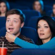 What an exciting movie! — Stock Photo #41218403