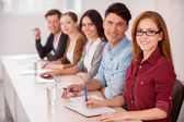People working together — Stock Photo