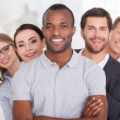 Confident business team — Stock Photo #42491463