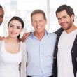 Group of cheerful business people — Stock Photo #42491483