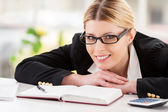 Confident business lady. — Stock Photo