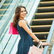 Young woman with shopping bags — Stock Photo #45052395