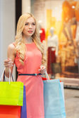 Woman shopping. — Stock Photo