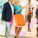 Mature couple shopping — Stock Photo #45918735