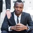 Frustrated young African man — Stock Photo #46175457