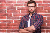 Charming handsome young man — Stock Photo