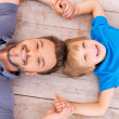 Happy dad and son. — Stock Photo #48114103