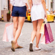Shopping girls. — Stock Photo #48429077