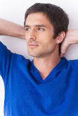 Man feeling confident and relaxed. — Stock Photo