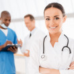 Confident female doctor. — Stock Photo #49924123