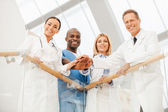 Team of medical experts. — Stock Photo