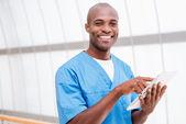 Confident surgeon. — Stock Photo