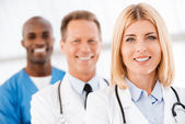 Medical doctors team. — Stock Photo