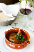 Gurmánský pokrm. — Stock fotografie