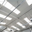 Industrial hall roof — Stock Photo