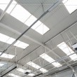 Stock Photo: Industrial hall roof