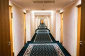 酒店走廊 — 图库照片