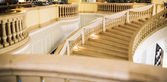 Marble stairs in hotel — Stock Photo