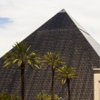 Famous Luxor hotel in Las Vegas — Stock Photo