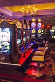 Slot machines inside Bellagio Las Vegas Casino — Zdjęcie stockowe