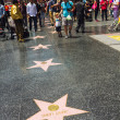Hollywood Walk of Fame Stars — Stock Photo #41578021