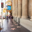 Hollywood Walk of Fame — Stock Photo #41578207