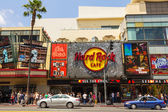 Hard Rock Cafe in Hollywood — Stock Photo