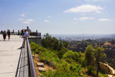 Hill observation point — Stock Photo