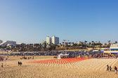 Memorial presso la spiaggia di santa monica — Foto Stock