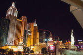 Famous hotel of Las Vegas at night — Stock Photo