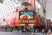 Colored main entrance of a casino — Stock Photo