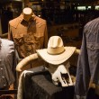 Cowboy clothes shop — Stock Photo