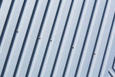 Oblique striped metal sheet — Stock Photo