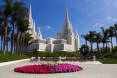San Diego Temple in a sunny day — Stock Photo